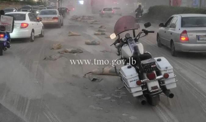التحكم المروري: قتيل بحادث صدم على اوتوستراد الضبية باتجاه بيروت