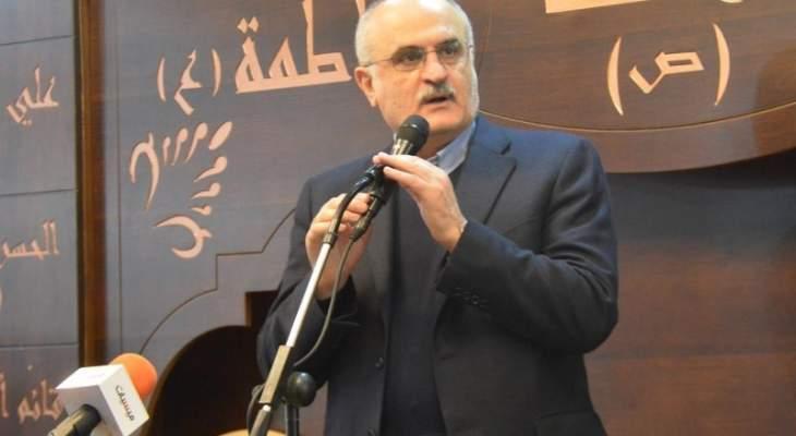 علي حسن خليل: ثوابتنا بالموازنة عدم المس برواتب ذوي الدخل المحدود وعدم فرض ضرائب