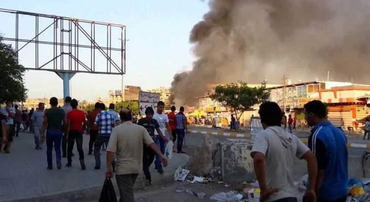 العربية: إصابة موظفين بانفجار عبوة استهدفت رتلا للأمم المتحدة بالعراق