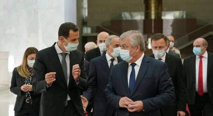 الأسد استقبل وفدا روسيا وبحث معه كيفية اتاحة المجال لعودة النازحين لسوريا