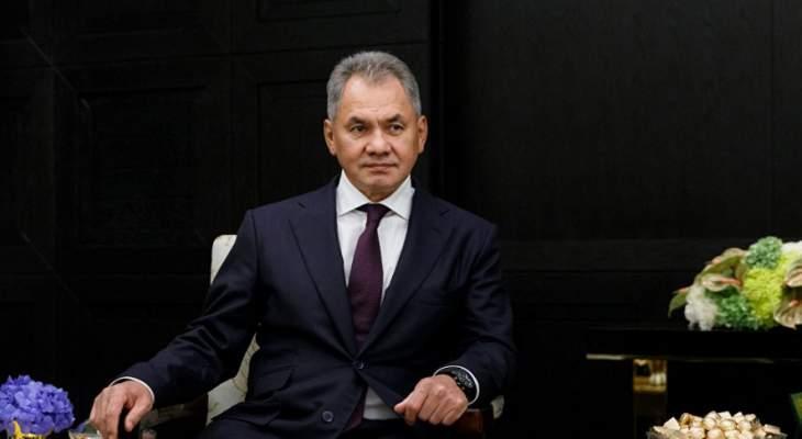 شويغو: مستعدون للمساعدة في تعزيز قوة القوات المسلحة المصرية وقدراتها الدفاعية