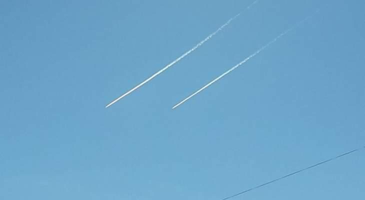 النشرة: الطيران الحربي الاسرائيلي يشن غارات وهمية فوق مناطق النبطية واقليم التفاح