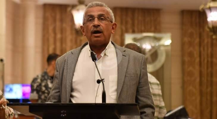 سعد: على الدولة اللبنانية تأمين الحقوق الإنسانية والاجتماعية للفلسطينيين