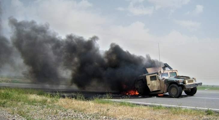 استهداف رتل تابع للتحالف الدولي في محافظة صلاح الدين العراقية