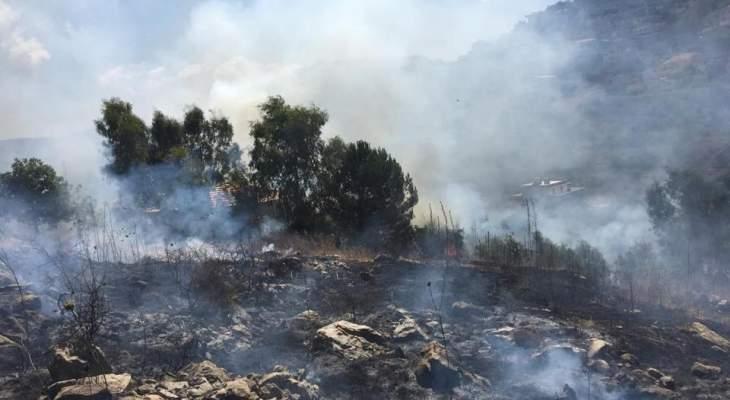 الدفاع المدني: إخماد 3 حرائق مختلفة في الروضة وكيفون ودده