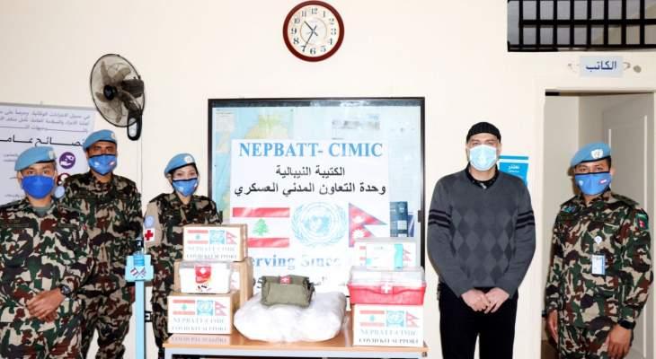 الكتيبة النيبالية أطلقت حملة لدعم كل البلديات في منطقة عملها لمكافحة فيروس كورونا