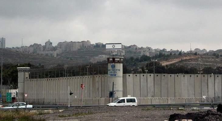 """سلطات إسرائيل تعتزم نقل 400 أسير فلسطيني من سجن """"جلبوع"""""""