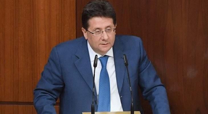كنعان: لجنة المال عدلت 65 مادة بالموازنة وخفضت اعتمادات الإنماء والإعمار والمجلس الأعلى للخصخصة وأوجيرو