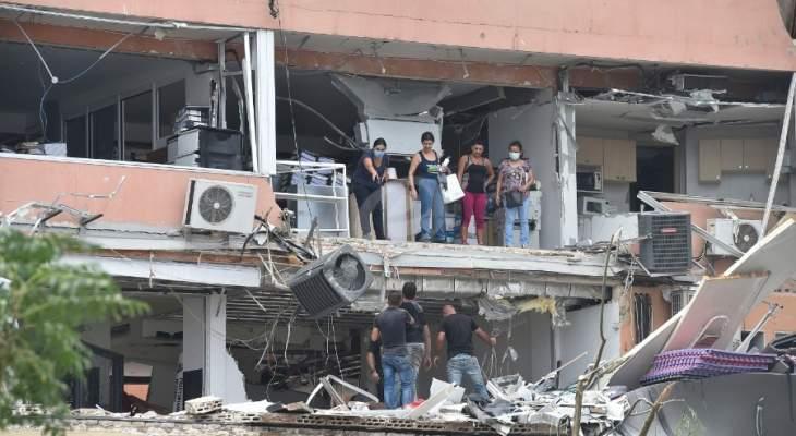 """مساعدة من"""" مفوضية الأمم"""" لـ11500 عائلة متضررة من انفجار المرفأ"""
