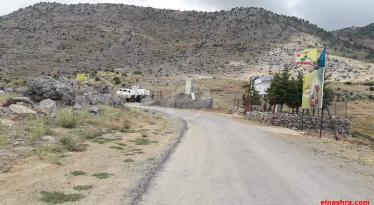 النشرة: سماع اصوات انفجارات قوي قرب الحدود مع اسرائيل