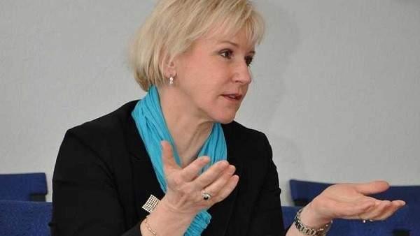 وزيرة خارجية السويد:العالم يترقب المشاورات ويجب رفع المعاناة الإنسانية عن اليمنيين