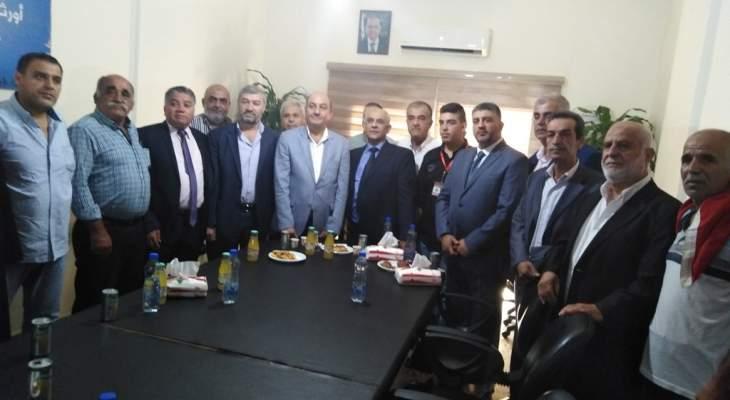 سفير تركيا زار بلدة تكريت: لا مطامع تركية في الأراضي السورية ونحارب الارهاب