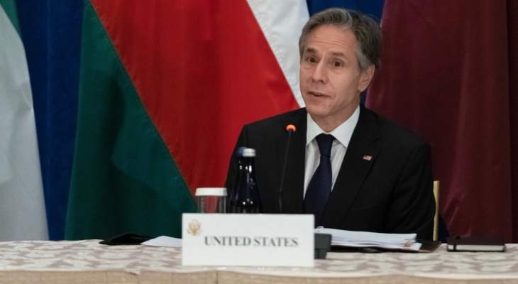 بلينكن أكد مواصلة بلاده العمل مع دول الخليج لمواجهة التحديات الجديدة ومعالجة التغير المناخي