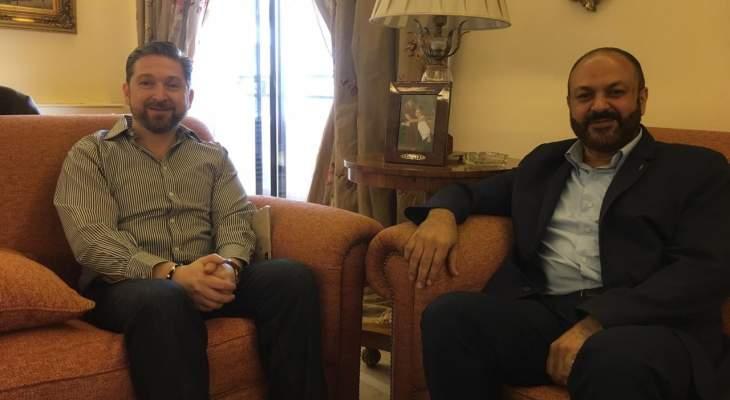 كرامي التقى وفدا من تجمع أمان في طرابلس