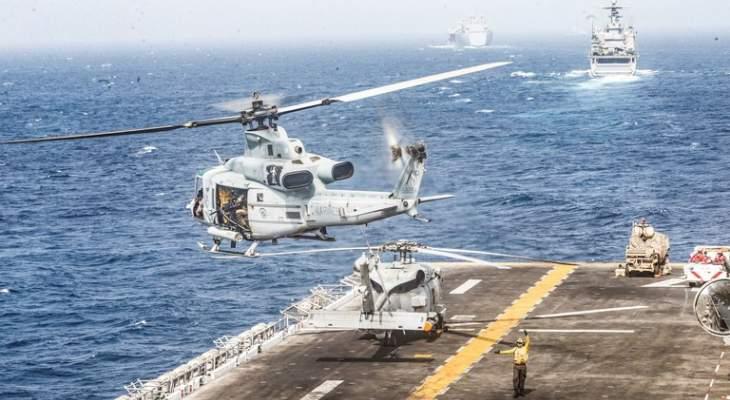 صحيفة أميركية: السفينة الأميركية التي أسقطت درونا إيرانيا تعرضت لسلسلة حوادث بهرمز