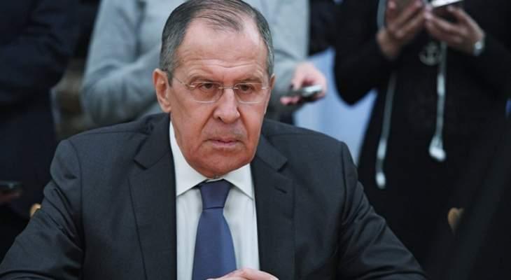 لافروف: نعمل بشكل مكثف مع تركيا لحل الوضع في إدلب