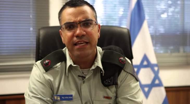 """أدرعي: إسرائيل تستهدف موقعين لـ """"حماس"""" بالمدفعية والطائرات شمال غزة"""
