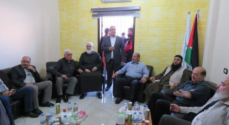 """وفد من قيادة """"حماس"""" في غزة يزور عين الحلوة"""