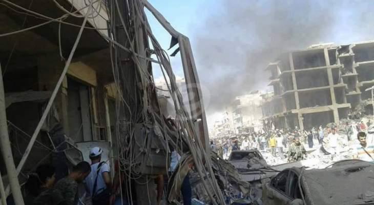 النشرة: مقتل عدد من ضباط وعناصر الجيش السوري بهجوم للمسلحين في ريفي اللاذقية وحماه