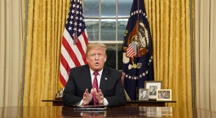 الرئيس ترامب يلغي رحلته الى بولندا بسبب إعصار دوريان
