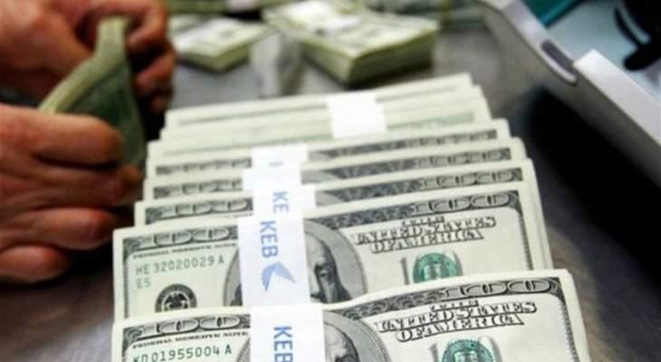 مصادر الجمهورية: الدولار ارتفع بسبب مبادرة بعض المصارف الى شفطه
