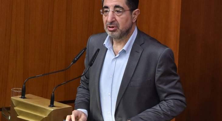 الحاج حسن: للأسف كان لدينا فرصة لإقرار قانون العفو العام اليوم والانقسام السياسي حوله يتفاقم
