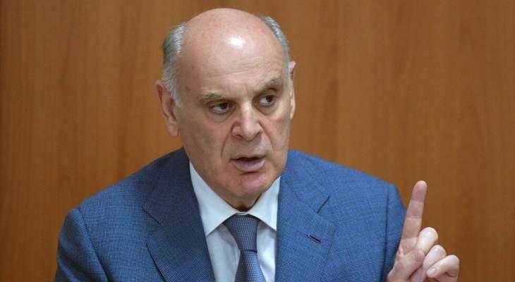 رئيس جمهورية أبخازيا وصل الى سوريا في زيارة رسمية