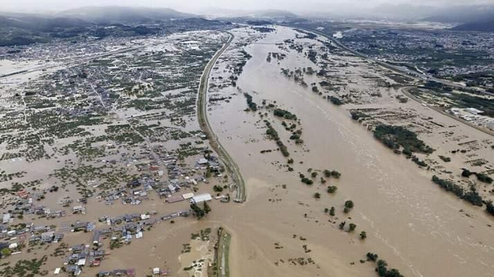 ارتفاع حصيلة ضحايا الإعصار هاغيبيس في اليابان إلى حوالى 70 قتيلاً