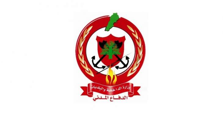 الدفاع المدني: اندلاع حريق في حافلة لنقل الركاب في بيت شاما