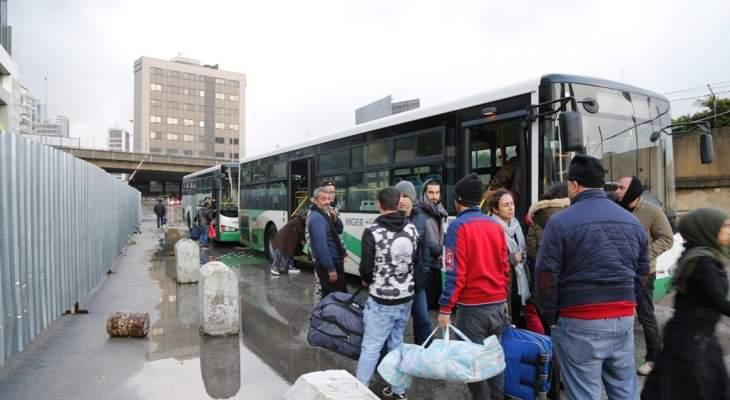 مصدر بالامن العام للشرق الاوسط: الإجراءات المسهلّة على الحدود لعودة النازحين مستمرة