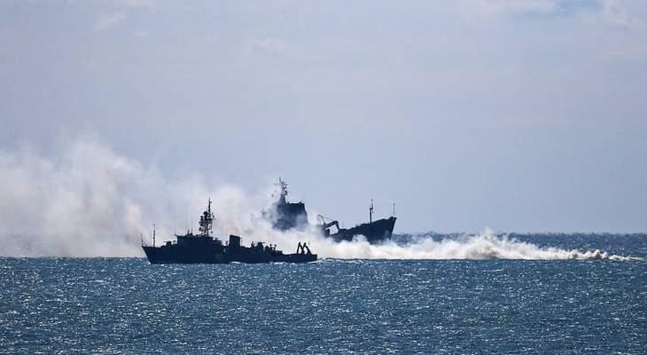 الدفاع الروسية: 20 سفينة حربية عادت إلى قواعدها بعد تدريبات واسعة في القرم