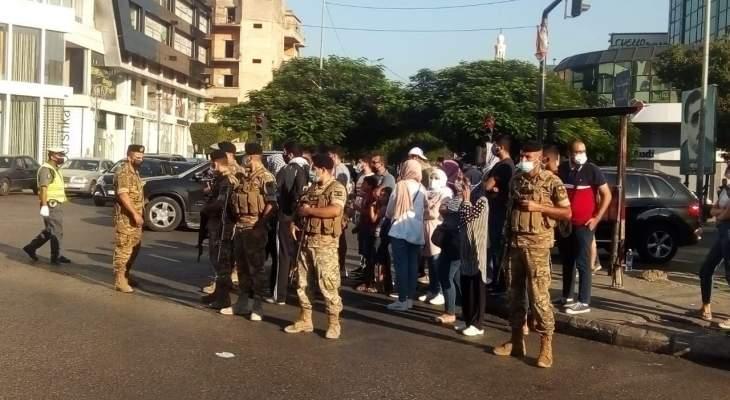 """النشرة: وقفة احتجاجية لمجموعات حراك """"صيدا تنتفض"""" عند تقاطع إيليا"""