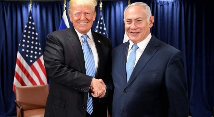 البيت الأبيض: ترامب ناقش مع نتانياهو تهديد إيران وقضايا ثنائية وإقليمية أخرى
