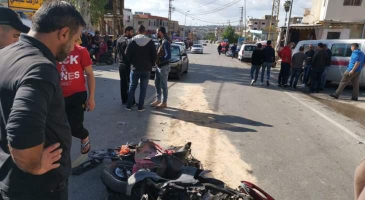 الدفاع المدني: جريحان جراء حادث سير في كفرتبنيت