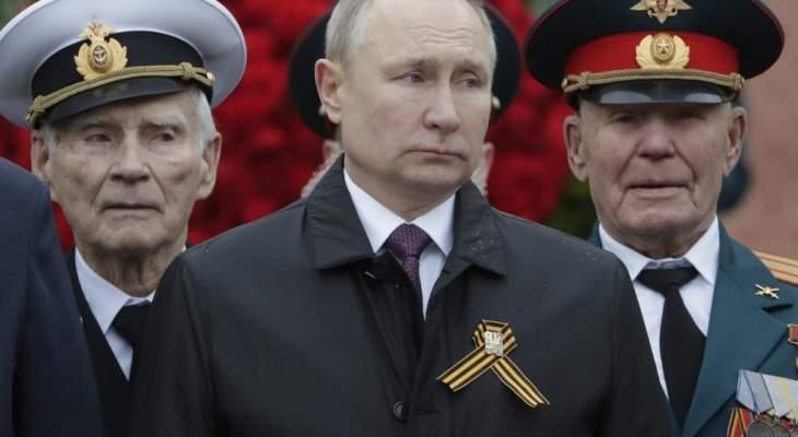 بوتين: ندافع بلا كلل عن القانون الدولي وسندافع بحزم عن مصالحنا الوطنية