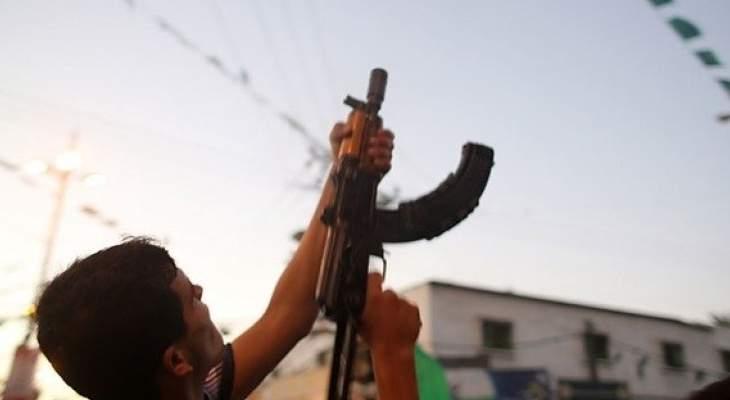 النشرة: سماع إطلاق نار في مخيم عين الحلوة تبين أنه ابتهاجا بحفل زفاف