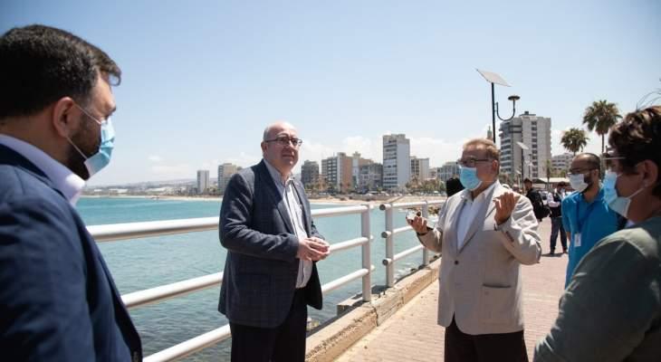 رئيس بعثة السفارة البريطانية ينهي زيارته الى جنوب لبنان: سنواصل دعم الشعب اللبناني