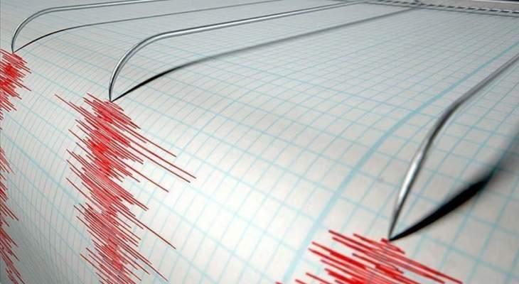 زلزال بقوة 4.2 درجة ضرب ولاية موش جنوب شرقي تركيا