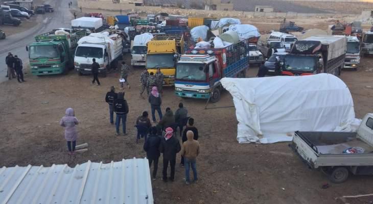 النشرة: الأمن العام يؤمن العودة الطوعية لحوالي 1800 نازح سوري اليوم