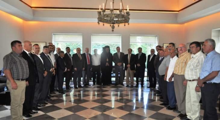 السفير اليوناني حاضر عن العلاقة التاريخية التي تربط بلاده بلبنان