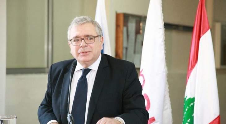 فادي الجميل: تعميم مصرف لبنان يعطي بارقة أمل وننتظر خطة الحكومة للنهوض بالبلد