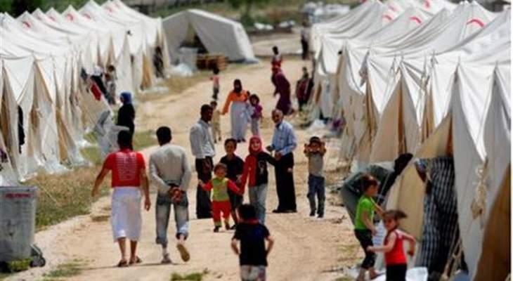النشرة: عودة دفعة جديدة من المهجرين من مخيم الركبان بمنطقة التنف السورية