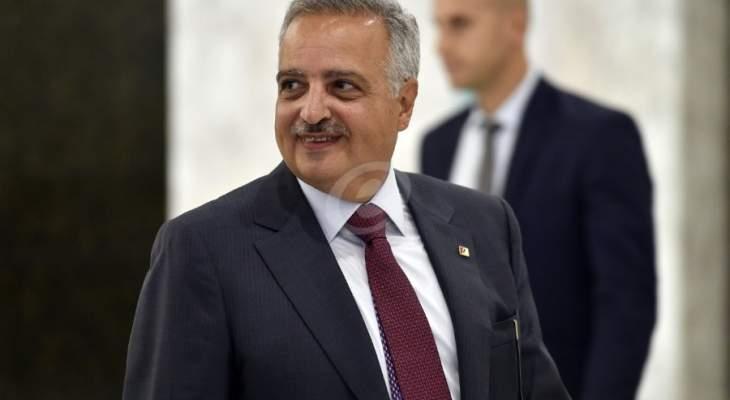 ارسلان: كلام وهبة المستنكر يعبر عنه شخصيا ولا علاقة له لا بسياسة لبنان الخارجية