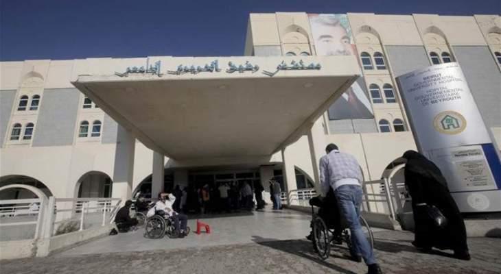 مستشفى بيروت الحكومي: 95 إصابة جديدة بكورونا و41 حالة حرجة ولا وفيات
