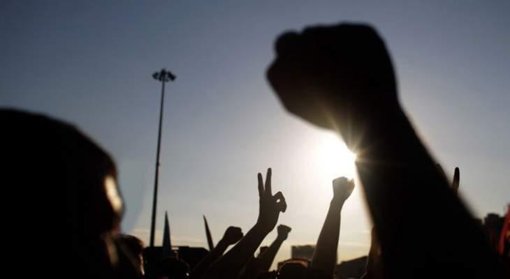 اشتباكات بين المتظاهرين والقوى الأمنية في طرابلس