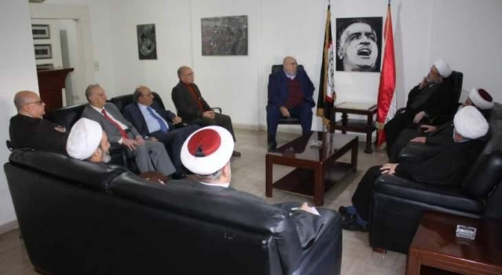 وفد من العلماء المسلمين زار حمدان: تأخير عودة النازحين جزء من المؤامرة على سوريا