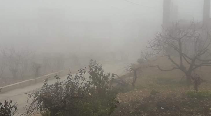 النشرة: تراجع حدة موجة الصقيع في منطقة حاصبيا
