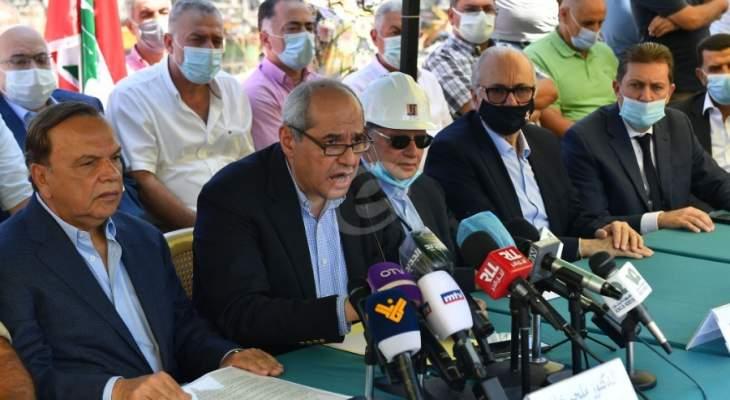 خلف أطلق الهيئة الوطنية لإعادة إعمار بيروت: لبنان لا يبنى إلا بالتكاتف والوحدة