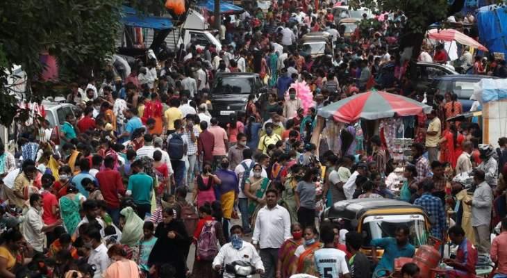 الحكومة الهندية تطلب من الولايات فرض قيود لمكافحة كورونا قبل مهرجانات