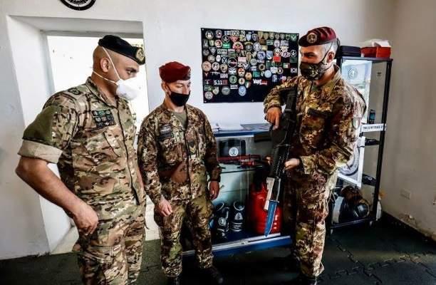البعثة العسكرية الإيطالية الثنائية: القوات الإيطالية تدرب الجيش اللبناني على أسلوب القتال العسكري